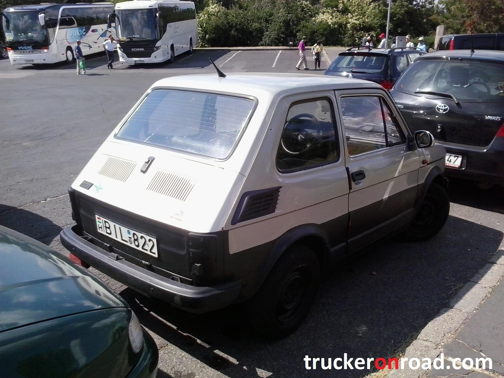 Fiat 125p Budapeszt 2