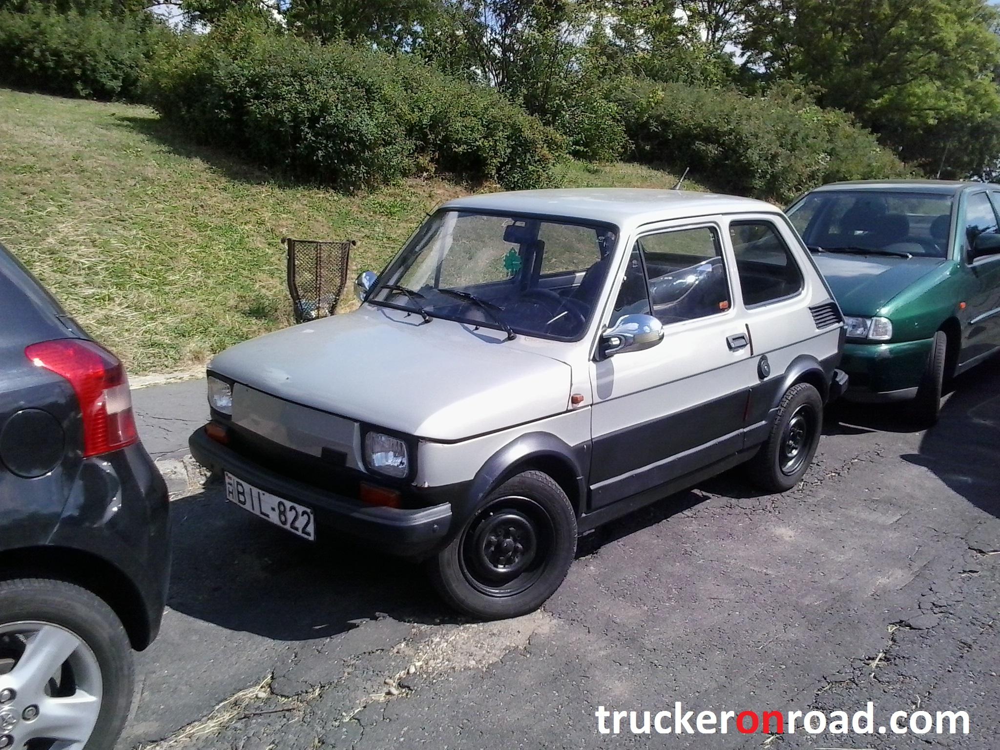 Fiat 125p Budapeszt
