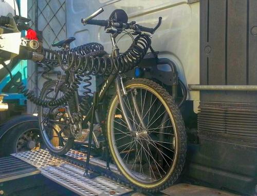 Z rowerem w trasie… Kierowca w międzynarodówce.