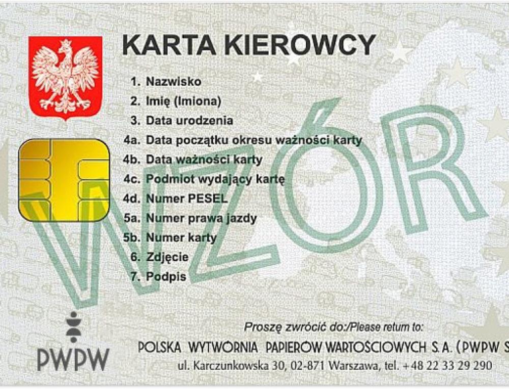 Karta kierowcy do tachografu cyfrowego. Co warto wiedzieć…