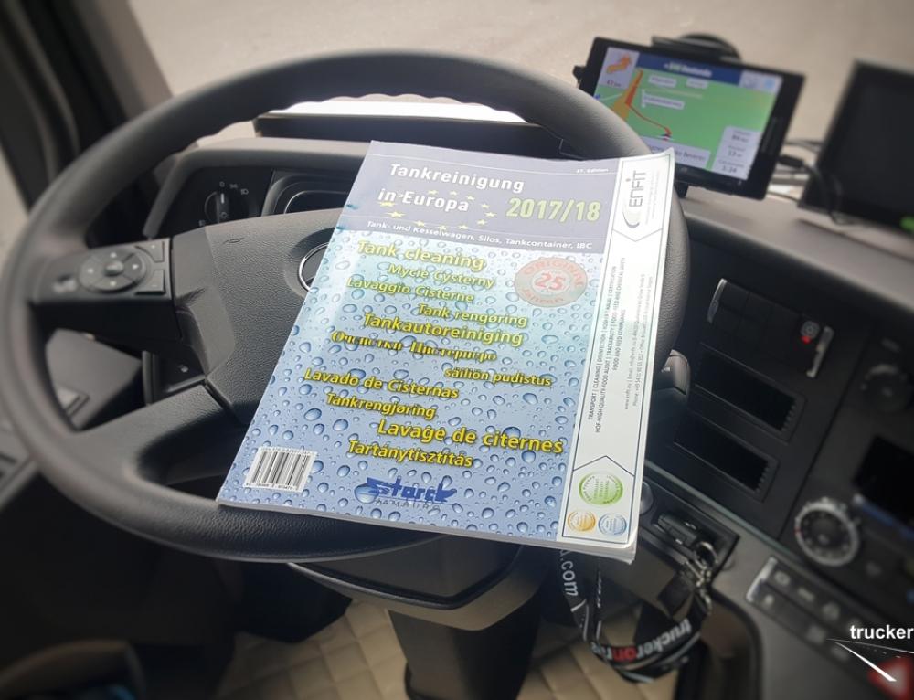 Kierowcy cystern. Atlas z mapami oraz adresami myjni cystern w Europie.