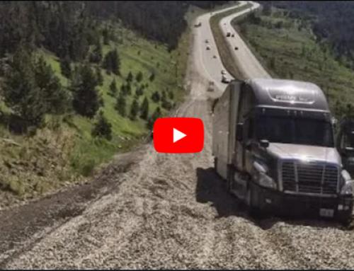 Gdy zawiodą hamulce… Ciężarówki podczas najazdów na rampy ratunkowe.