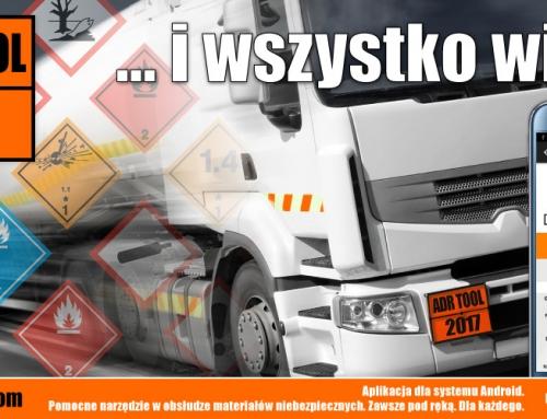 ADR Tool & IMDG Tool – aplikacja mobilna o towarach niebezpiecznych dla kierowców zawodowych.