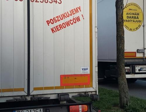 Filipiński kierowca na przerzutach u podwykonawcy Polaka….