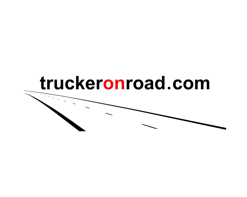 TRUCKER ON ROAD Logo