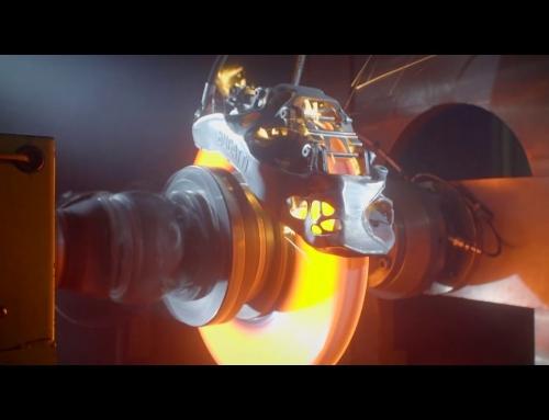 Testowanie pierwszego na świecie zacisku hamulcowego w nadruku 3D