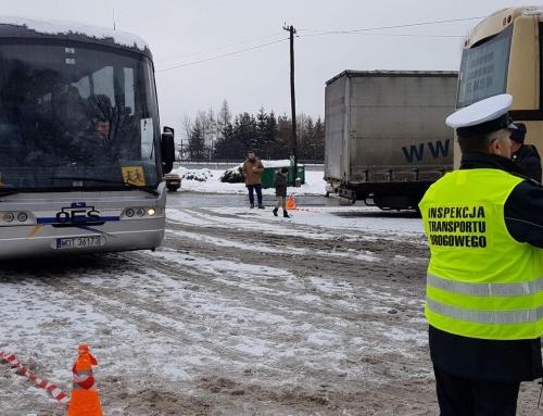 ITD rozpoczyna kontrolę autokarów – Bezpieczne ferie z Inspekcją Transportu Drogowego