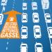 Pas awaryjny ratuje życie. Niemcy-nowa kara za nie zjechanie na bok będzie wynosiła aż 200 euro