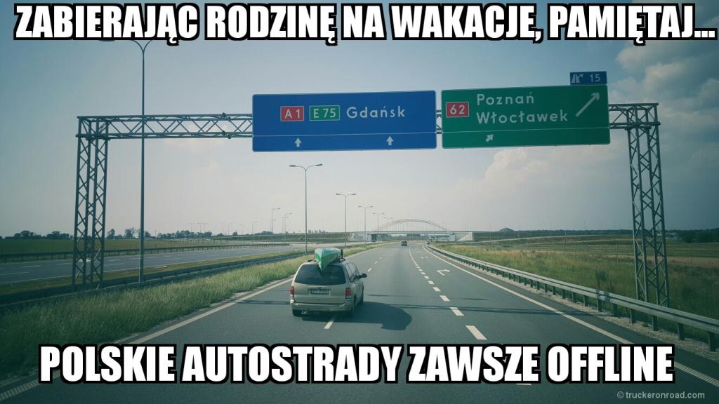 autostrady polska