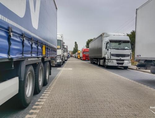 Obsługa codzienna samochodu ciężarowego. Napady na kierowców