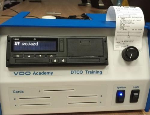 Inteligentny tachograf w rękach ekspertów INELO i OCRK