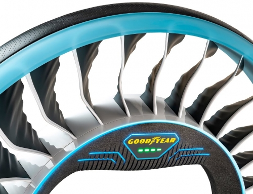 """Goodyear Aero – opona """"dwa w jednym"""" dla autonomicznych, latających samochodów przyszłości."""