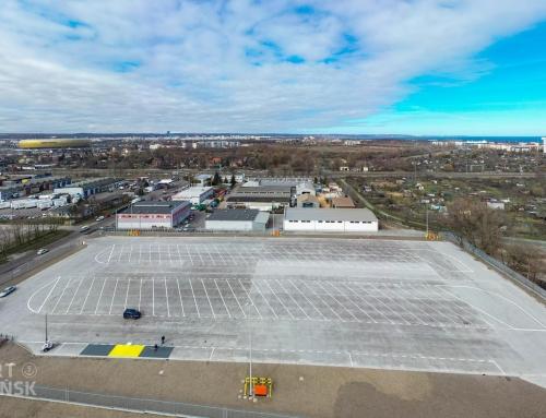 Pierwszy parking buforowy w Porcie Gdańsk