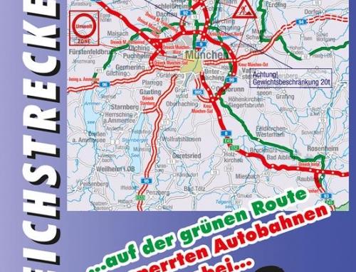 Konkurs. Mapa z wakacyjnymi zakazami ruchu Niemcy 2019+truckerska smycz Volvo Trucks.