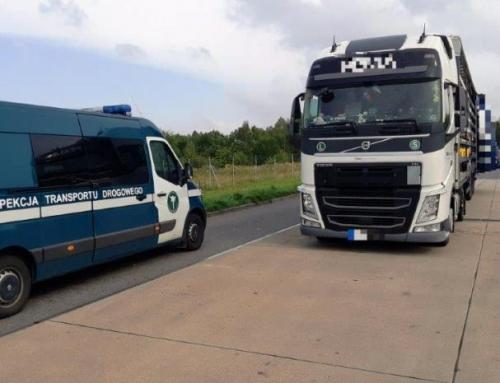 Czeski przewoźnik i transport z naruszeniem przepisów SENT.