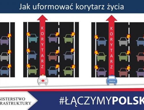 Jazda na suwak oraz korytarz życia obowiązkowe. Sejm uchwalił zmiany w przepisach