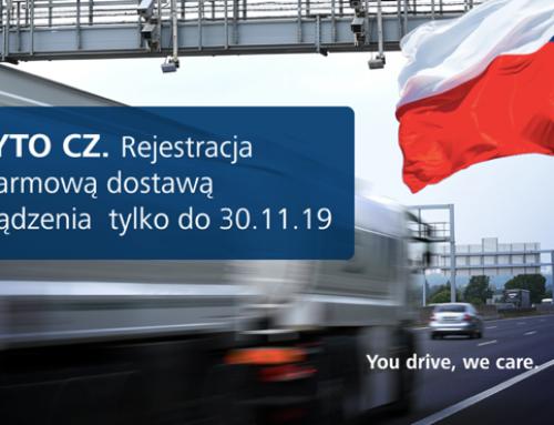 Co ze starym urządzeniem do poboru opłat drogowych w Czechach?
