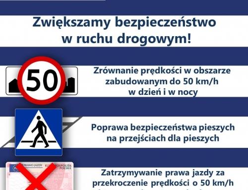 Projekt nowelizacji ustawy – Prawo o ruchu drogowym został 31 stycznia 2020 r. skierowany do konsultacji publicznych i uzgodnień międzyresortowych.
