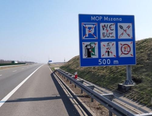 Przejście graniczne w Gorzyczkach. MOP Mszana Południe na autostradzie A1 czynny