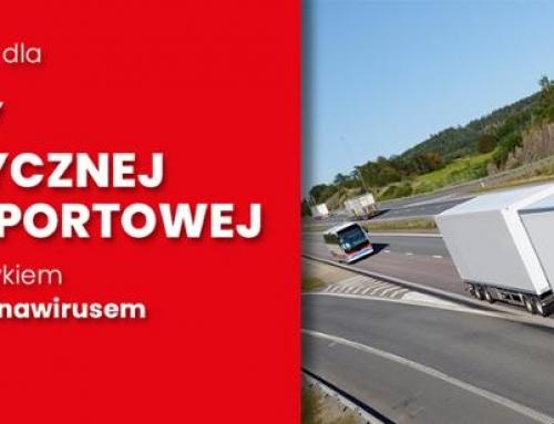 Zalecenia dla branży transportowej i logistycznej w związku z rozprzestrzenianiem się koronawirusa