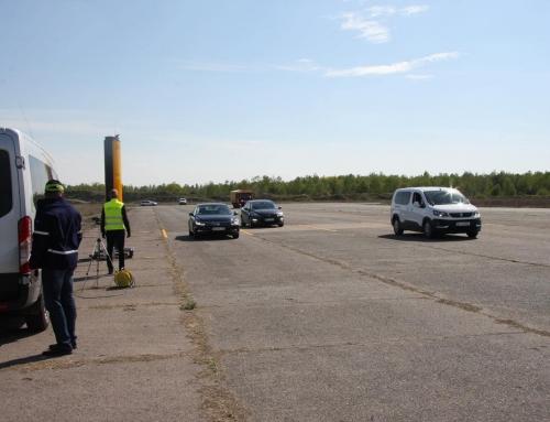 CANARD – Nowe fotoradary sprawdzone. Testy na lotnisku.