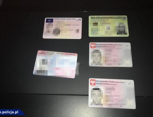 Rozbicie zorganizowanej grupy przestępczej, której członkowie podejrzani są o produkcję fałszywych dokumentów