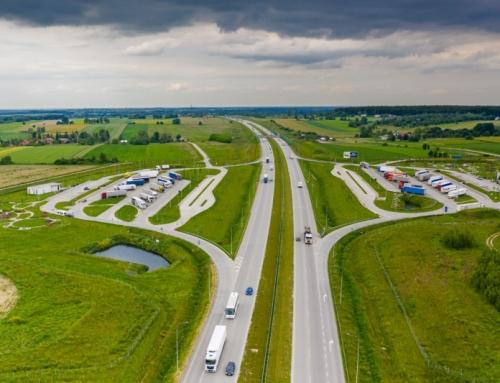 Bezpieczne parkingi dla samochodów ciężarowych na Polskich drogach