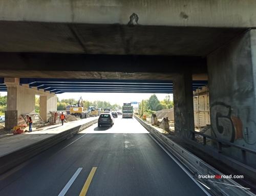 Hamburg autostrada A1. Całkowite zamknięcie w obie strony na weekend