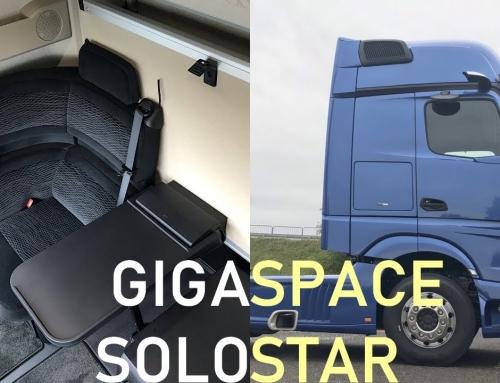 Kabina GigaSpace SoloStar Concept – prezentacja najciekawszej wersji Actrosa